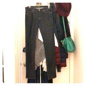 7's straight leg jeans